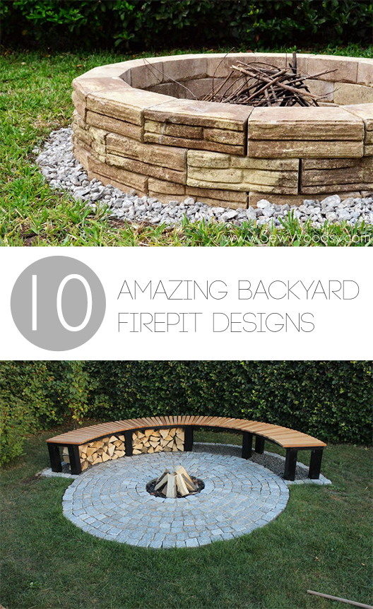 10 amazing backyard diy firepit designs bless my weeds