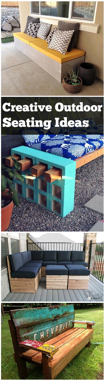 Gardening, home garden, garden hacks, garden tips and tricks, growing plants, gardening DIYs, gardening crafts, popular pin, outdoor seating ideas, DIY outdoor seating