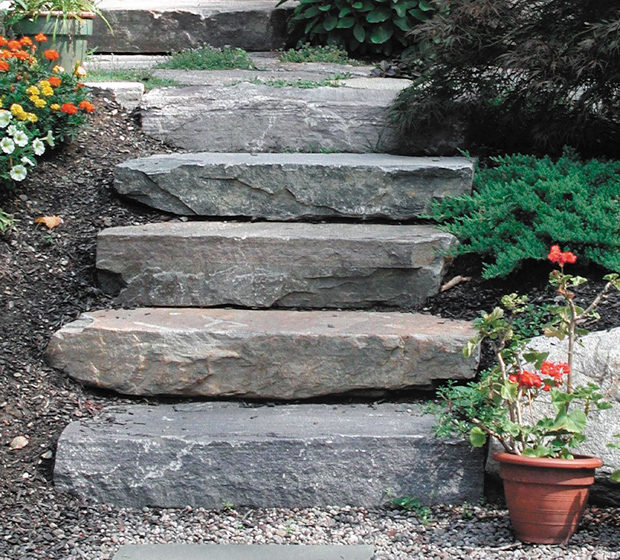 Building Stone Steps : Diy steps for your yard page of bless my weeds
