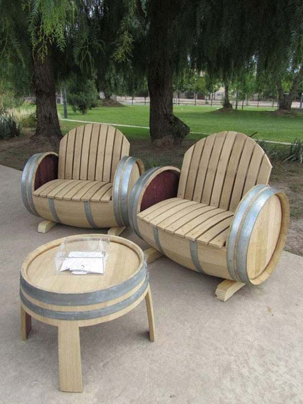 Creative ways to use wine barrels in your yard bless my weeds creative ways to use wine barrels in your yard sisterspd