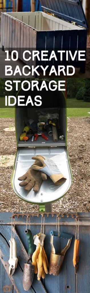 10 Creative Backyard Storage Ideas