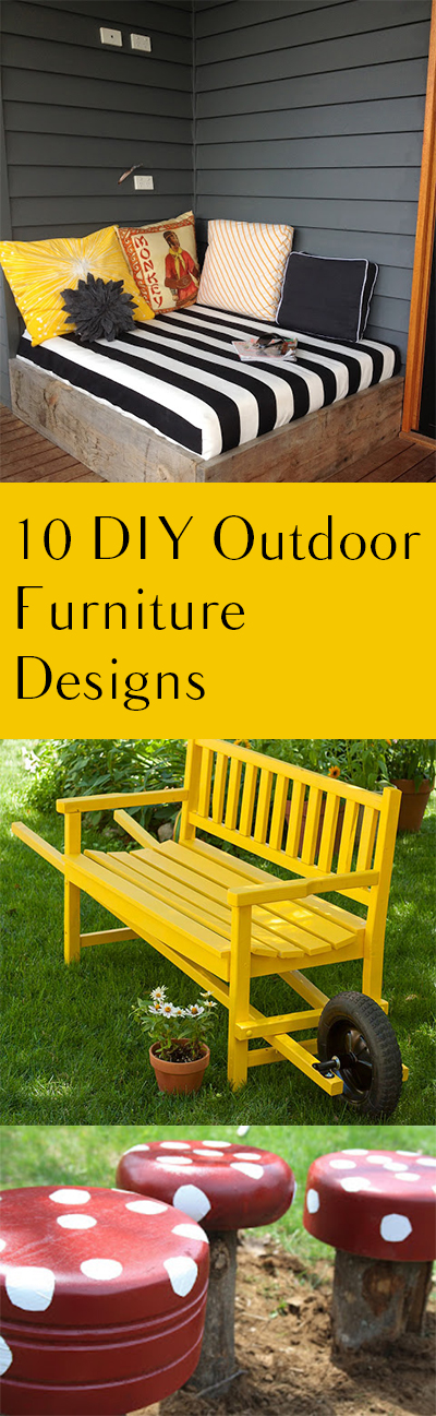 10 diy cool patio furniture designs bless my weeds