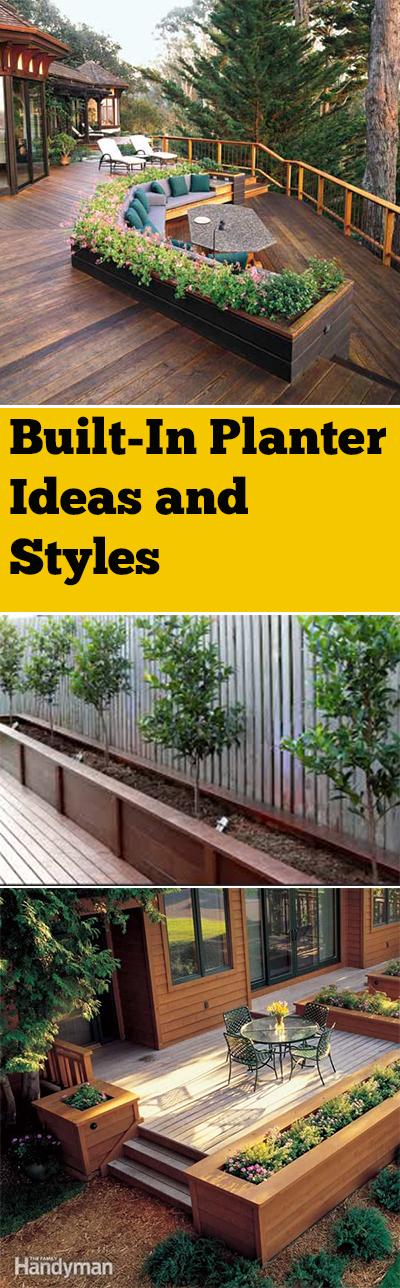 built in planter, DIY built in planter, garden planter, Gardening, home garden, garden hacks, garden tips and tricks, growing plants, gardening DIYs, gardening crafts, popular pin,