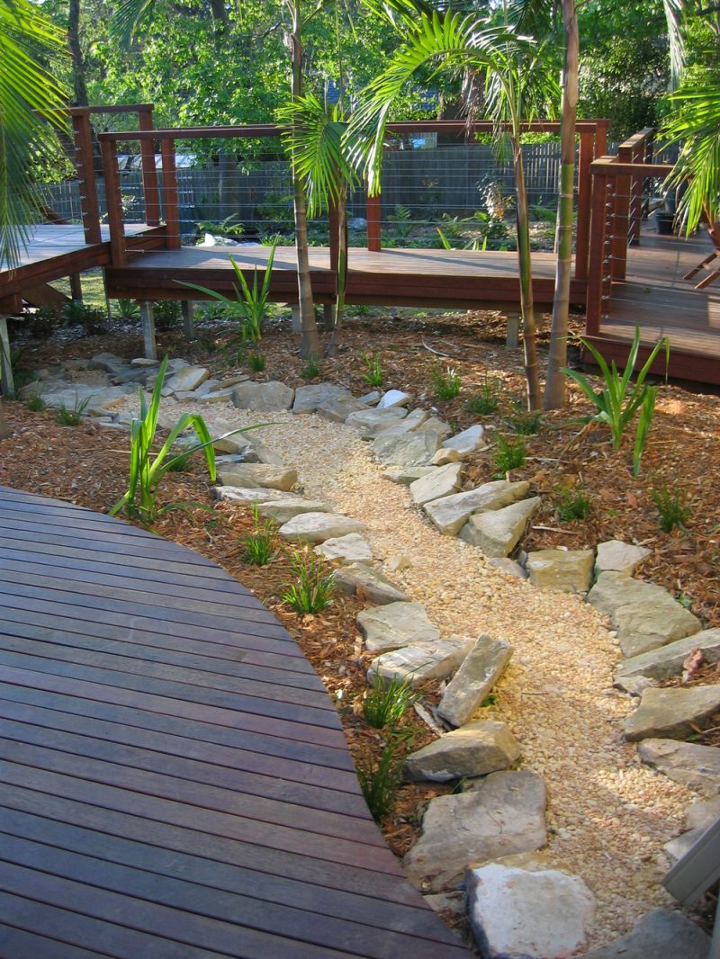 diy dry creek bed designs and projects bless my weeds