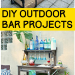 DIY Outdoor Bar Projects