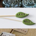 Garden markers, DIY plant markers, plant marker ideas, popular pin, garden, gardening DIYs, gardening hacks, vegetable gardening.