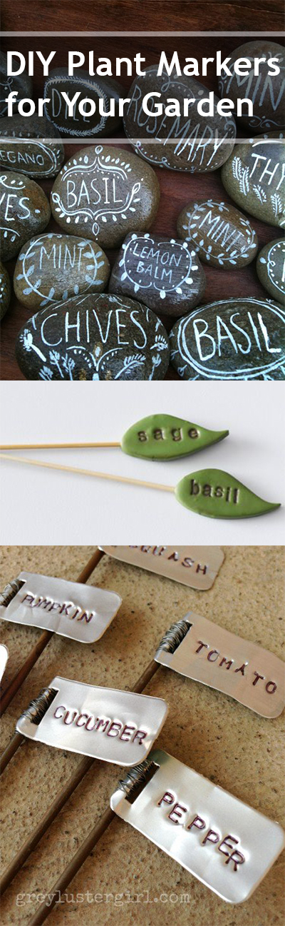 13 Creative Plant Markers - Bless My Weeds