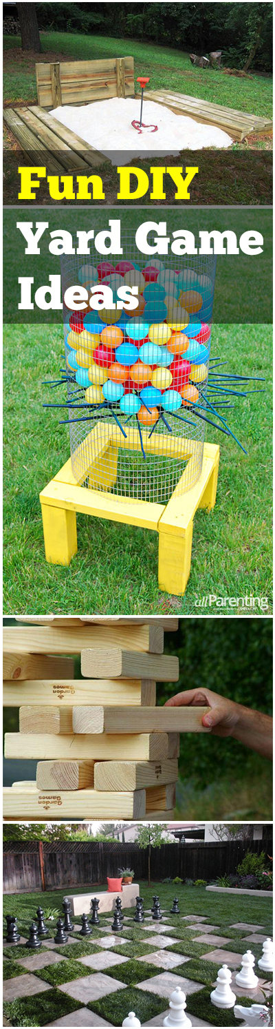 15 fun diy backyard games to play