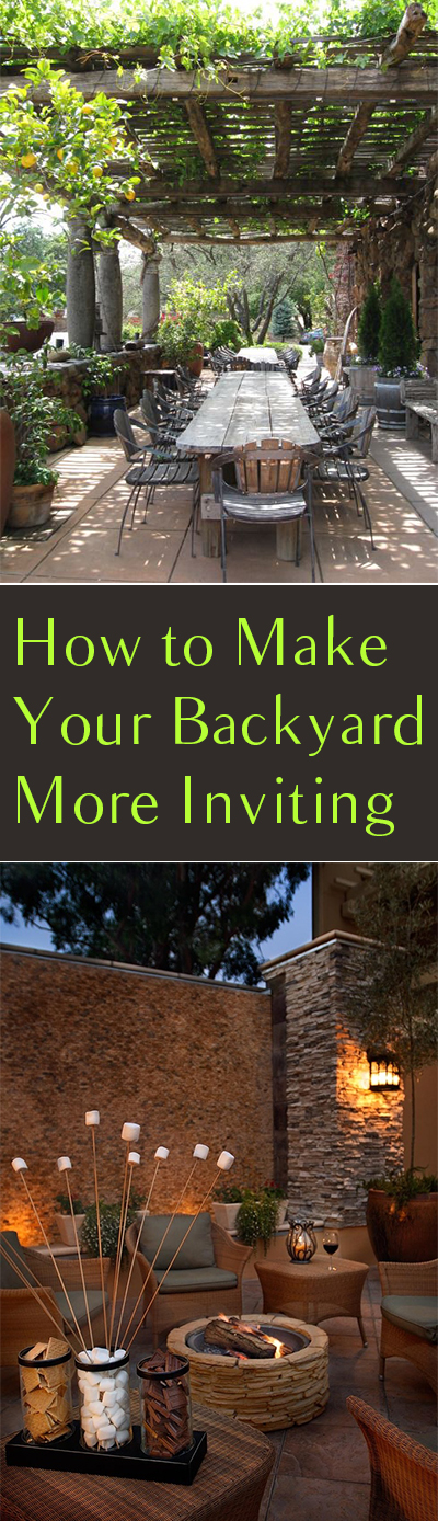 How to Make Your Backyard More Inviting| Backyard Ideas, Backard DIY Designs, Outdoor DIY Design, DIY Landscaping, Outdoor DIY, Outdoor Ideas, Outdoor DIY Ideas, DIY Yard Ideas #YardIdeas #YardDIY #DIYYard #DIYYardIdeas #OutdoorDIY