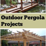Outdoor pergola, outdoor pergola projects, DIY pergola projects, popular pin, DIY outdoor projects, outdoor living, outdoor entertainment.