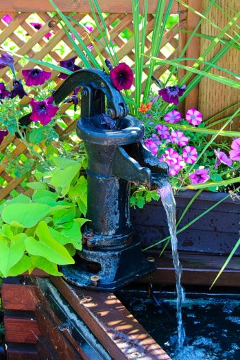 Here are some amazing and easy to make DIY garden waterfalls that are a great addition to any backyard. Whether you have a big space, or a small corner, there's a garden waterfall idea here for you. You will love them!
