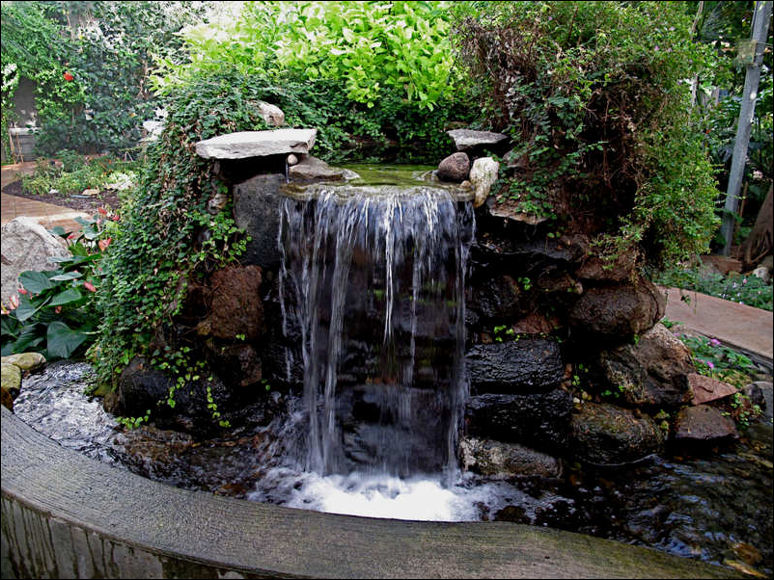 diy garden waterfalls - Waterfall Landscape Design Ideas