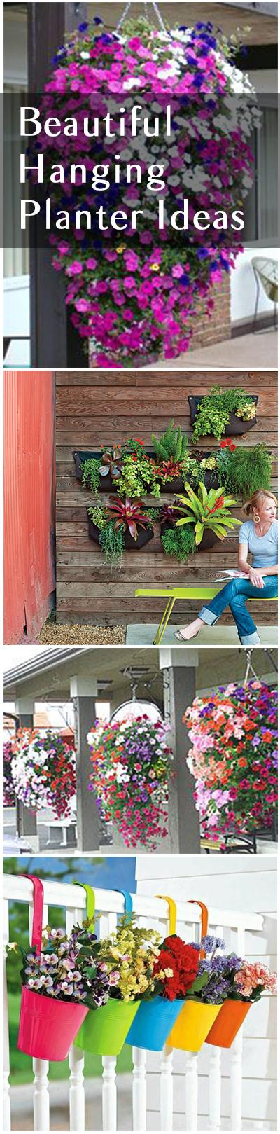 Gardening, home garden, garden hacks, garden tips and tricks, growing plants, gardening DIYs, gardening crafts, popular pin, hanging planter ideas, outdoor planter