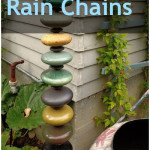 Creative DIY Rain Chains. DIY Rain Chains, Homemade Rain Chains, Gardening, Gardening Tips and Tricks, Outdoor DIY Projects, DIY Projects, Yard and Landscaping #garden #gardening #yardandlandscape #diygarden #outdoordiy