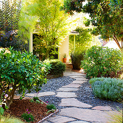 How to landscape without grass page 7 of 16 bless my weeds - Backyard ideas without grass ...