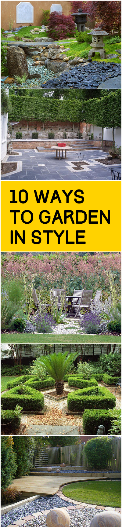 10 Ways to Garden in Style