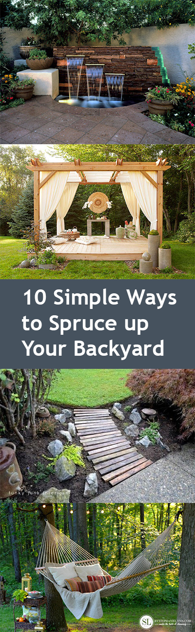 Backyard updates, update your backyard, DIY backyard hacks, backyard hacks, outdoor living, popular pin, outdoor entertainment.