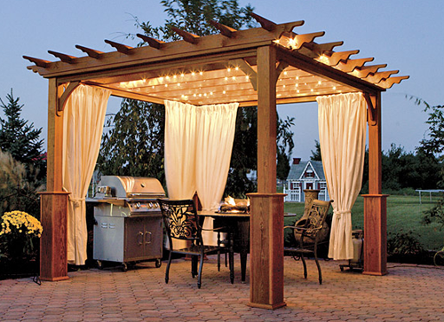 12 pergola building tips bless my weeds - Tonnelle de jardin ...