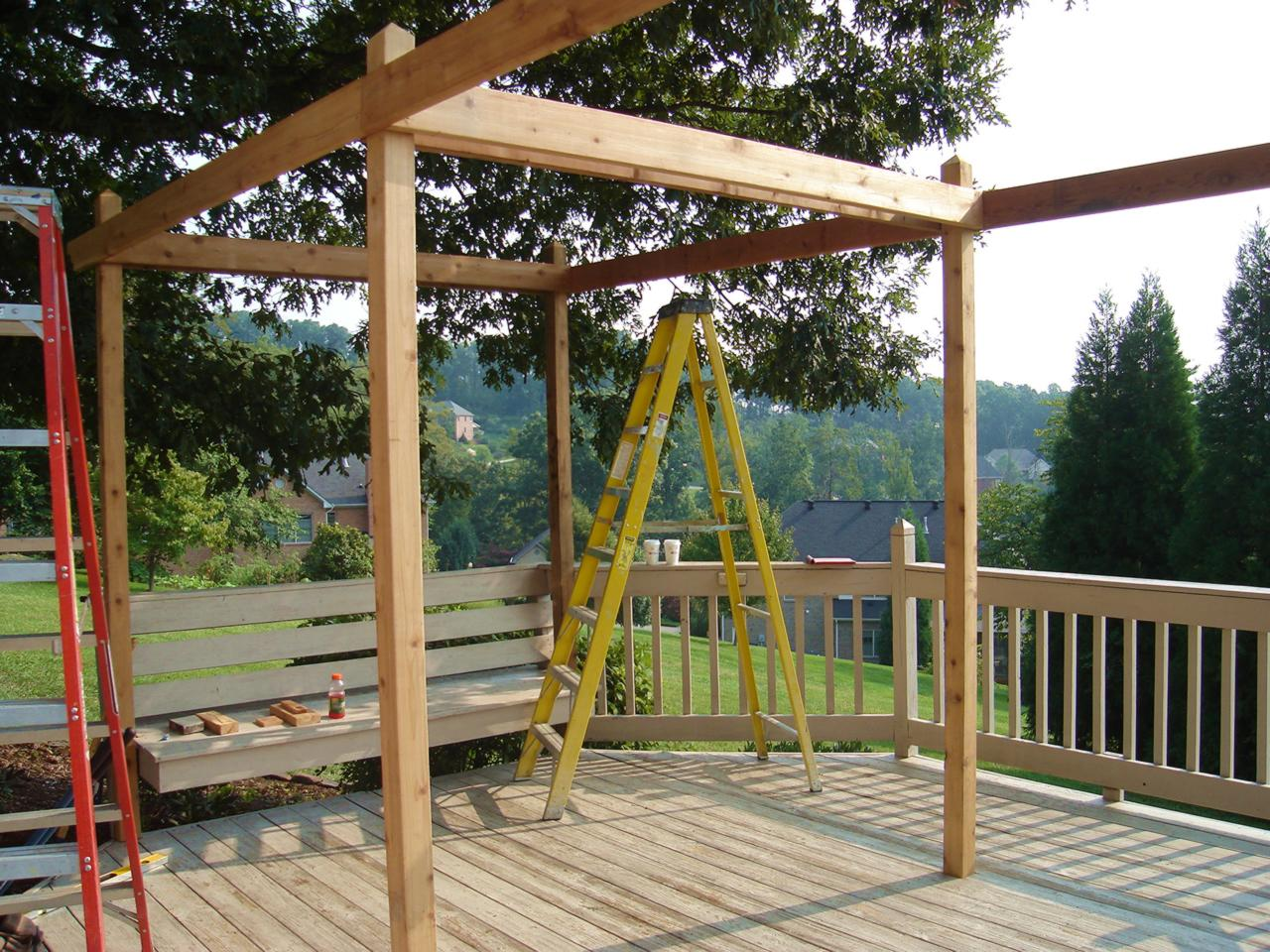 12 Pergola Building Tips Bless My Weeds