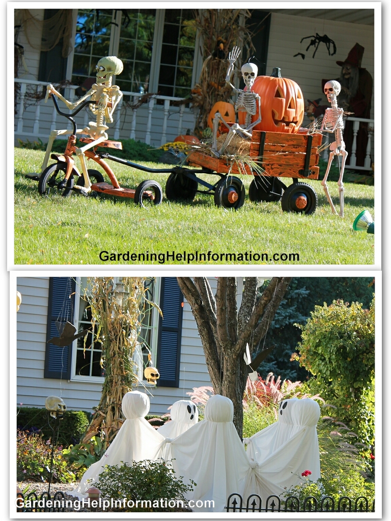 Scary halloween yard decorations - Scary Halloween Yard Decorations