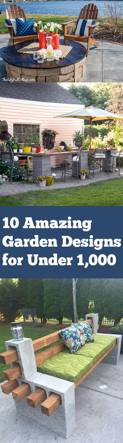Gardening ideas, DIY gardening, cheap gardening, frugal gardening, frugal living, frugal projects, outdoor projects, outdoor entertainment.