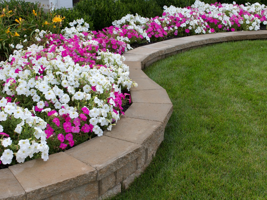 12 beautiful flower beds that will inspire page 5 of 13 bless my weeds. Black Bedroom Furniture Sets. Home Design Ideas