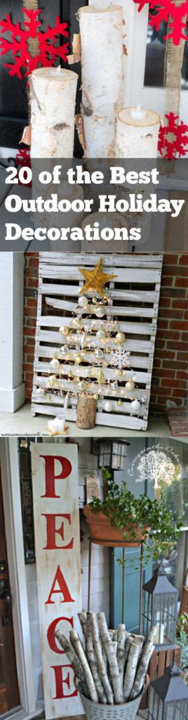 Holiday Decor, Outdoor Decorations, Outdoor Holiday Decorations, Christmas Decorations, DIY Holiday, DIY Outdoor Decorations, Popular Pin, Outdoor Decorations for Christmas