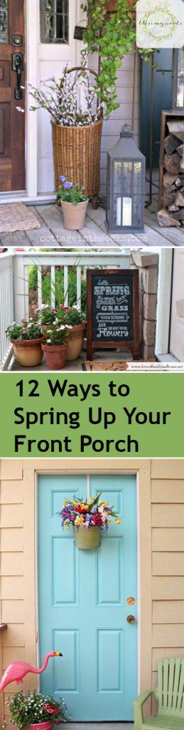 Spring, Spring Porch Decorations, How to Decorate Your Porch for Spring, Spring Porch, Decorating for Spring, How to Decorate for Spring, Popular Pin, Porch Decor, Easter Porch Decor.