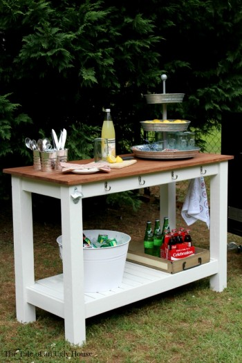 Awesome Diy Pottery Barn Outdoor Buffet Bless My Weeds Home Interior And Landscaping Analalmasignezvosmurscom