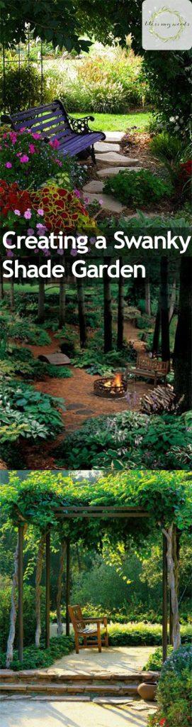 Creating a Swanky Shade Garden. Shade Gardens, Shade Gardening, Shade Gardening Tips and Tricks, Gardening, Gardening Hacks, Gardening Tips and Tricks, Gardening 101, Landscape, Landscape Design.