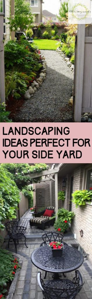 Landscaping Ideas Perfect for Your Side Yard ~ Bless My Weeds on Backyard Side Yard Ideas id=83971