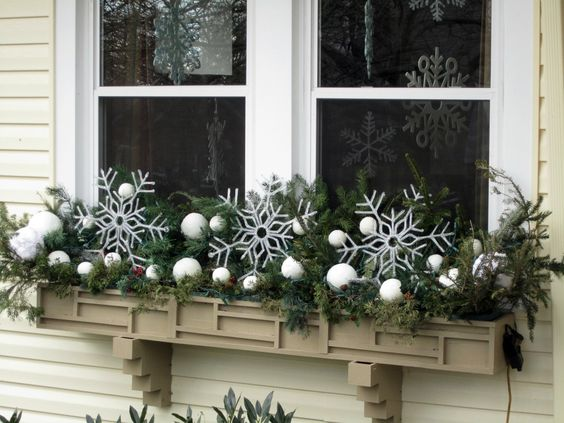 Plant a Winter Window Box