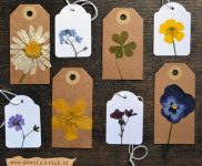 Crafty Ideas for Dried or Pressed Flowers - Bless My Weeds  Dried Flower, Dried Flower Crafts, Flower Crafts, Crafts for the Home, DIY Dried Flowers, Gardening Projects. #DriedFlowers #DIYCraft #EasyDIYCraft
