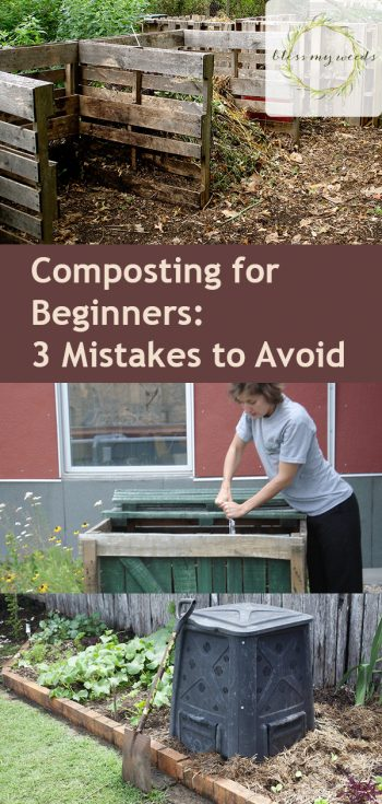 Composting for Beginners: 3 Mistakes to Avoid | Composting | Composting Tips and Tricks | DIY Composting | Composting Hacks | Garden | Gardening Tips and Tricks
