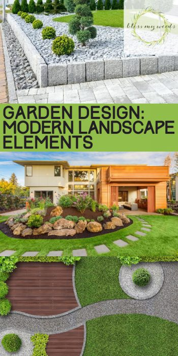 Modern Landscape Elements | Modern Landscape Design | Modern Landscaping Ideas | Landscaping Ideas | Garden Design | Garden Ideas | Modern Garden
