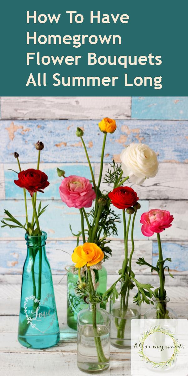 Home Grown Flower Bouquets | cut flowers | tips and tricks | bouquets | flower bouquets | flowers | garden | flower garden