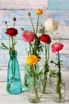 Home-grown flower bouquets