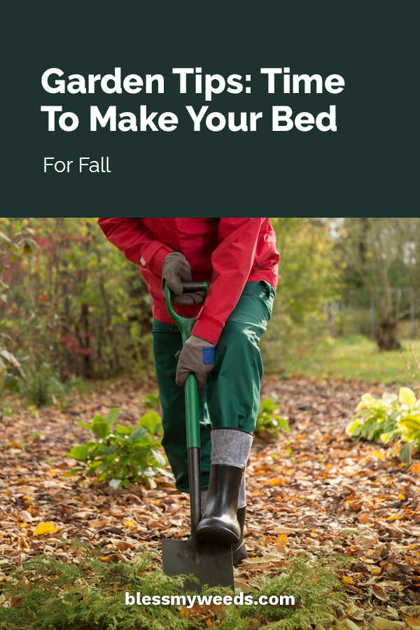 Garden Tips Time To Make Your Bed For Fall Bless My Weeds