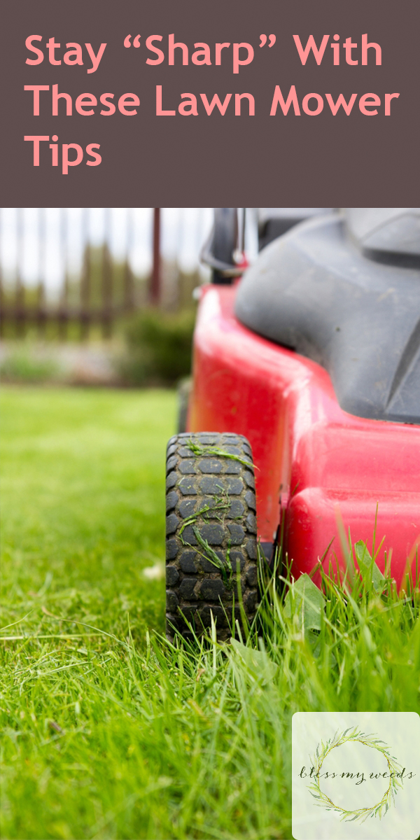 Lawn Mower Tips   how to sharpen a lawn mower blade   tips and tricks   lawn mower   healthy grass   yard tips and tricks