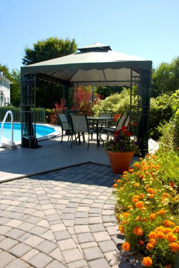 Geometric Patio Patterns | DIY | DIY yard | patio | patios | patio design | patio patterns