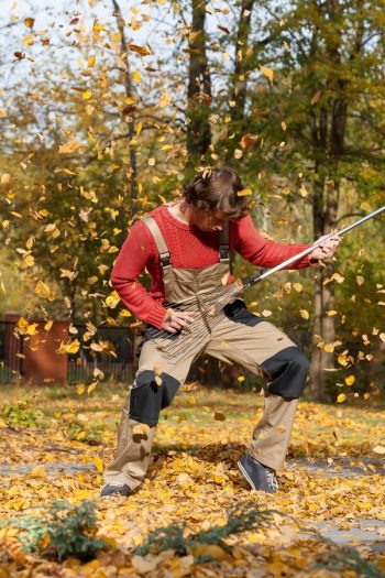Here are some tips on how to make leaf raking a lot more fun