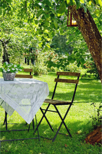 Many of us enjoy the solitude, cooler temps and privacy that comes with shade. If you are looking for shade ideas for your backyard, you're going to love all the inspiration I have for you! Take a look at these shade ideas!