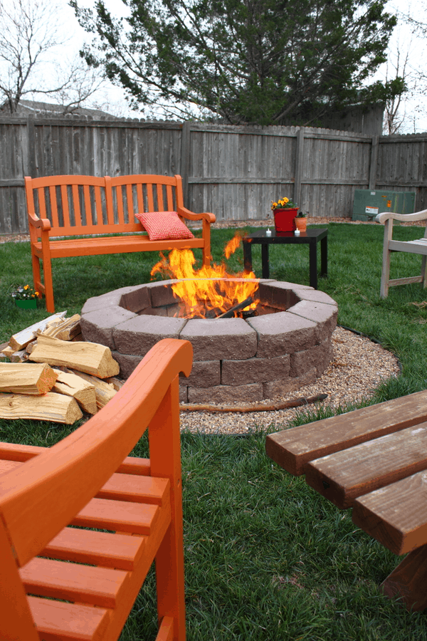 Fire Pit Ideas For The Backyard On A, Fire Pit Patios