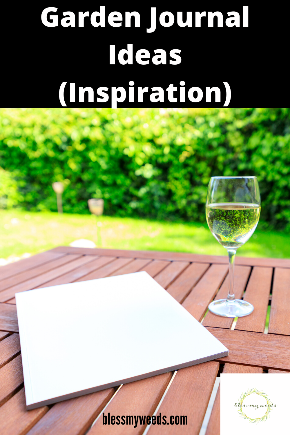 A garden journal is just like a personal journal. It details what you did that day, what success or failures you ran into etc. When you are inspired, write it down. Read this post to learn about the importance of garden journals and why you should keep one #gardenjournal #vegetablegardening #gardeningtips #blessmyweedsblog