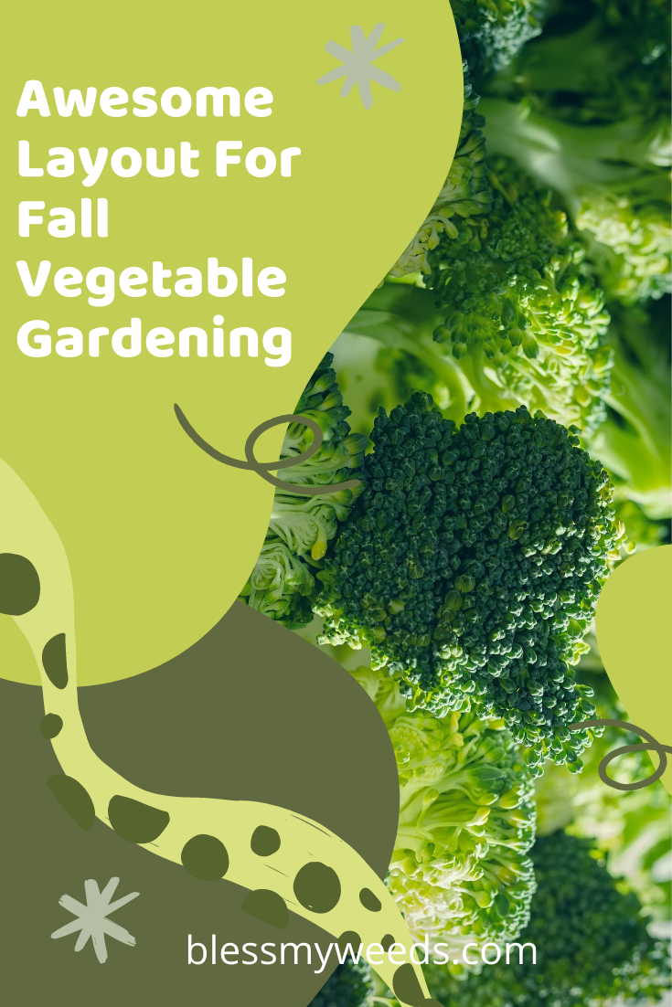 Fall is the best time to plant some crops. Which ones and why? Learn all about the benefits of fall gardening. #blessmyweedsblog #fallgardening #gardeningtips