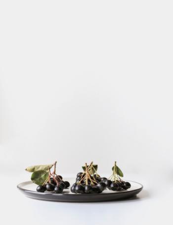 Purple-colored Acai berries