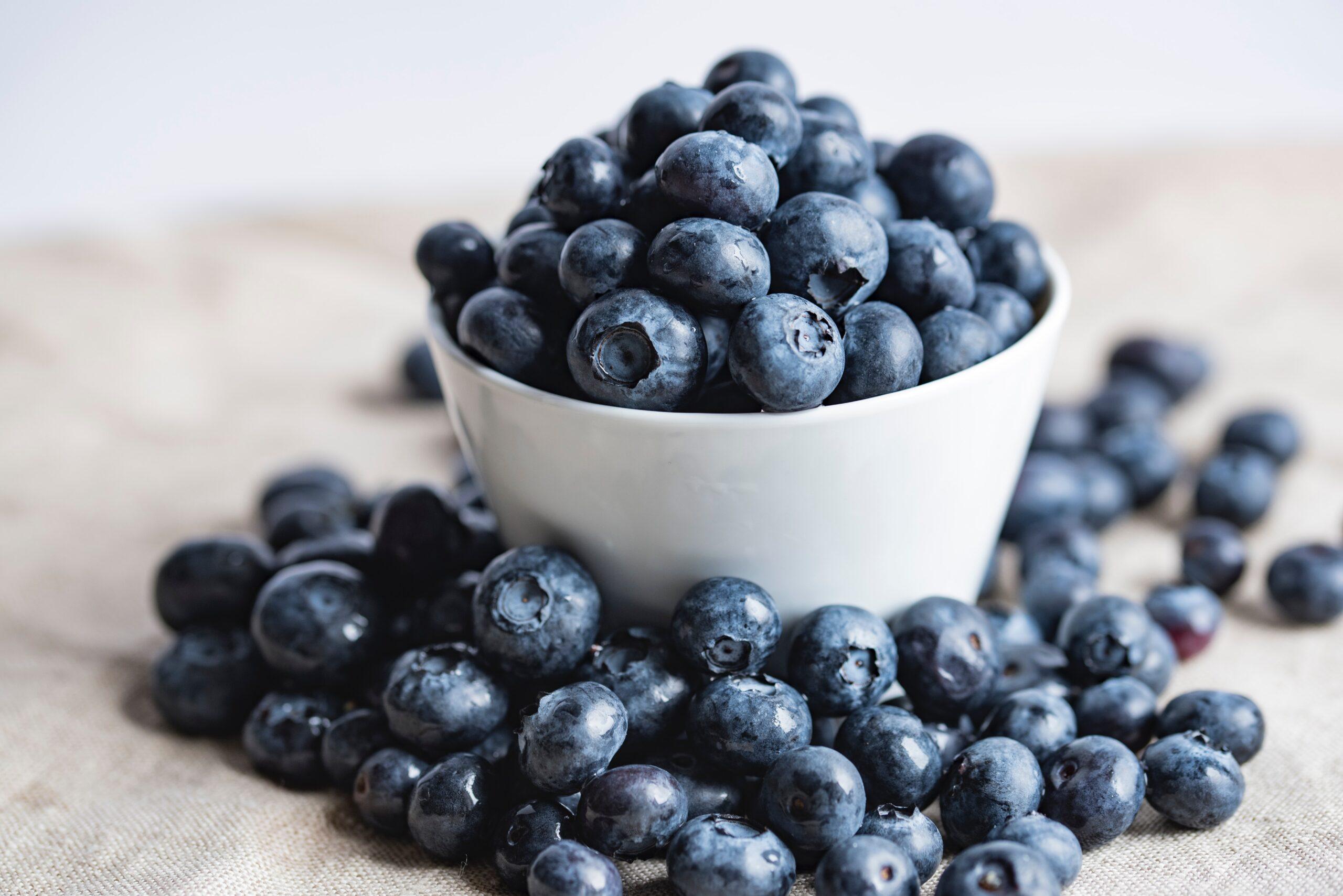 Blueberries are amazing vine fruit